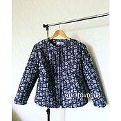 Одежда ручной работы. Ярмарка Мастеров - ручная работа Летняя куртка из жаккарда. Handmade.