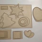 Каркасы для вязания ручной работы. Ярмарка Мастеров - ручная работа Донышки, донышки для корзин, Донышки для вязания , деревянные донышки. Handmade.