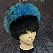Аксессуары handmade. Livemaster - original item Fur hat made of natural fur. ( Premium). Handmade.