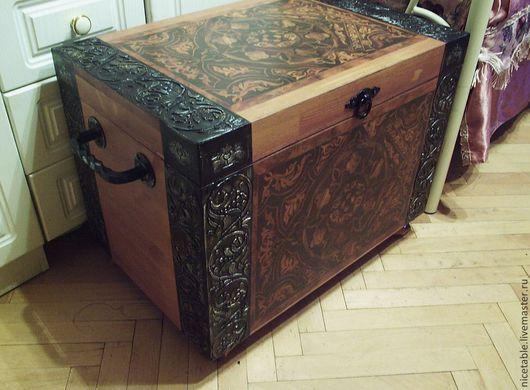 сундук, сундук деревянный, большой сундук, большой деревянный сундук, натуральное дерево, мебель ручной работы,сундук под старину,мебель для дачи,мебель на заказ,сундук для игрушек,пиратский сундук, с
