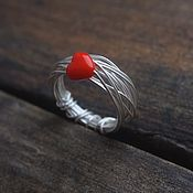 Украшения handmade. Livemaster - original item Ring of silver 925
