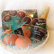 Косметика ручной работы. Ярмарка Мастеров - ручная работа Новогодний набор с конфетами. Handmade.