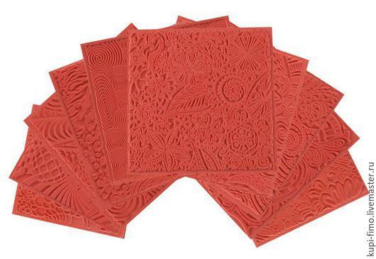 Для украшений ручной работы. Ярмарка Мастеров - ручная работа. Купить Текстурные листы Cernit ВСЕ В НАЛИЧИИ. Handmade.