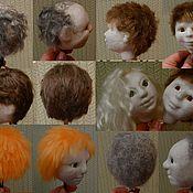Материалы для творчества ручной работы. Ярмарка Мастеров - ручная работа видео мк по причёскам для кукол из капрона. Handmade.