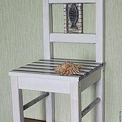 Для дома и интерьера ручной работы. Ярмарка Мастеров - ручная работа Детский стульчик из коллекции «Морячок». Handmade.