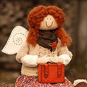 Куклы и игрушки ручной работы. Ярмарка Мастеров - ручная работа Фея путешественница. Handmade.