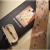 Аксессуары handmade. Livemaster - original item Klimt tie. Original painting.. Handmade.