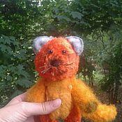 Куклы и игрушки ручной работы. Ярмарка Мастеров - ручная работа Котик плюшевый продан. Handmade.