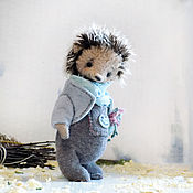 Куклы и игрушки ручной работы. Ярмарка Мастеров - ручная работа Тоффи Ёж, авторский ёжик Тедди. Handmade.