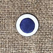 Материалы для творчества handmade. Livemaster - original item Overglaze paint FERRO 64 Serie No. №64197 Royal blue. Handmade.