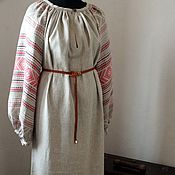 Русский стиль handmade. Livemaster - original item Women`s shirt of ancient cut. Handmade.