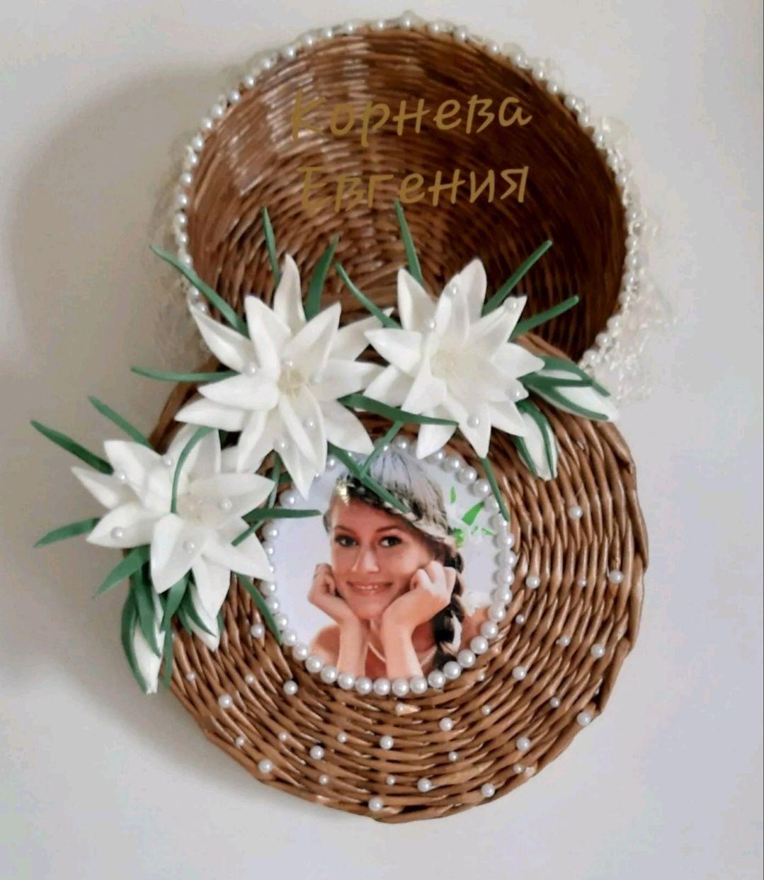 Шкатулка из бумажной лозы, Шкатулки, Кинешма,  Фото №1