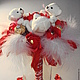 Очаровательные медвежата и конфеты-отличный подарок на день рождения!Надежда ярмарка мастеров.