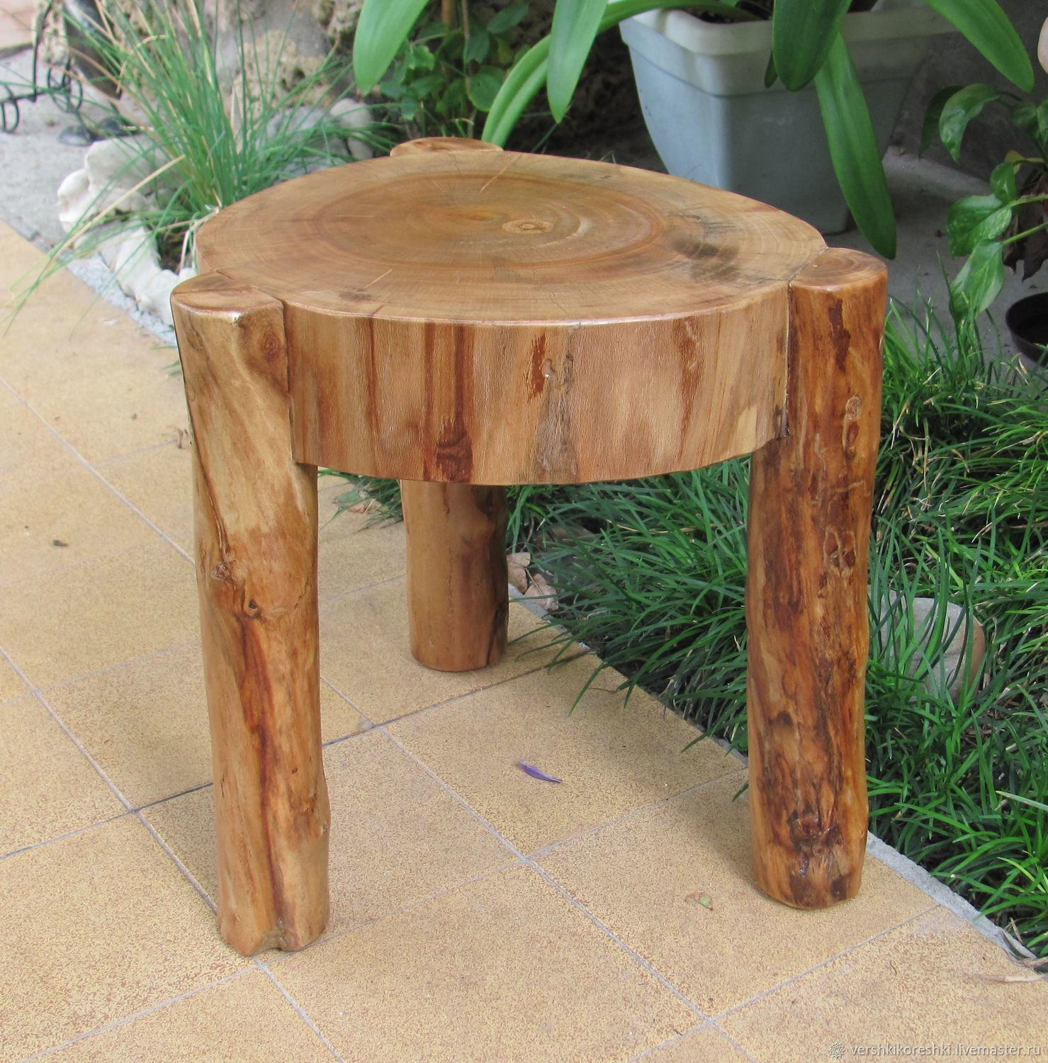Order A stool a chair a chair made of wood. & A stool a chair a chair made of wood u2013 shop online on Livemaster ...