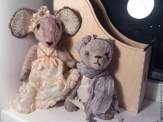 мышь Рамина и Жасмин
