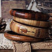 Украшения ручной работы. Ярмарка Мастеров - ручная работа браслеты Ключи от осени(коричневый). Handmade.