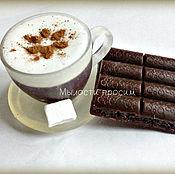 Косметика ручной работы. Ярмарка Мастеров - ручная работа Мыльный набор Капучино с шоколадом. Handmade.