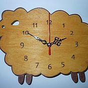 Для дома и интерьера handmade. Livemaster - original item Wall clock Zoo (animals). Handmade.