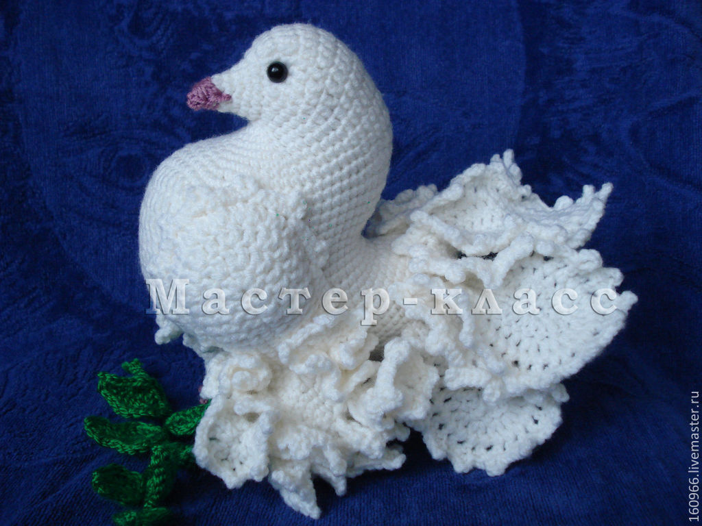 мк по вязанию голубя купить в интернет магазине на ярмарке