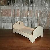 Куклы и игрушки handmade. Livemaster - original item Furniture for dolls: crib for dolls and toys 1288. Handmade.
