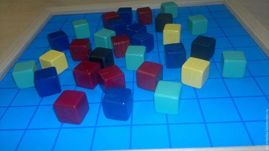 Развивающие игрушки ручной работы. Ярмарка Мастеров - ручная работа. Купить Кубики, кости,игральные.. Handmade. Кубики, кубики для игры