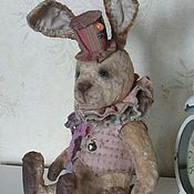 Куклы и игрушки handmade. Livemaster - original item Teddy Roger rabbit. Handmade.