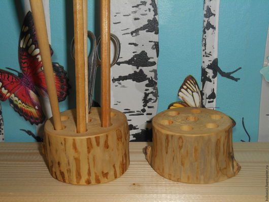 Карандашницы ручной работы. Ярмарка Мастеров - ручная работа. Купить Карандашница. Handmade. Карандашница деревянная