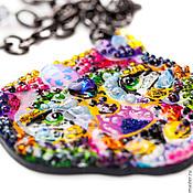 Украшения handmade. Livemaster - original item leopard. Handmade.