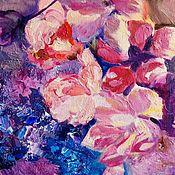 Картины и панно handmade. Livemaster - original item Cherry Blossom Oil Painting. Handmade.