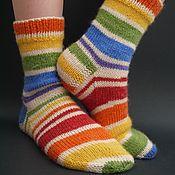 Одежда детская handmade. Livemaster - original item Baby wool socks.. Handmade.