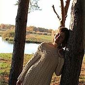 """Одежда ручной работы. Ярмарка Мастеров - ручная работа Платье теплое  """"Шамони"""". Handmade."""