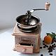 """Кухня ручной работы. Заказать кофемолка  """"механика итальянского Арт-Деко"""". интерьерные реновации. Ярмарка Мастеров. Ар-деко, винтаж"""