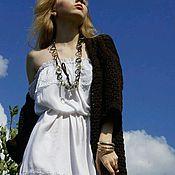 """Одежда ручной работы. Ярмарка Мастеров - ручная работа Платье """" ромашки на поле"""". Handmade."""