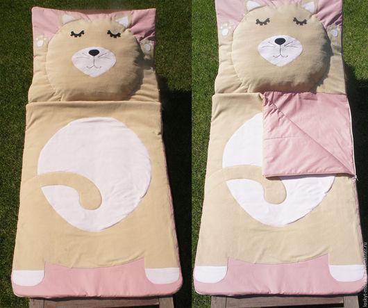 Пледы и одеяла ручной работы. Спальный мешок, конверт, одеяло - для детей спальник детский. МоЗайка. Ярмарка Мастеров. Спальня
