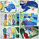 Развивающие игрушки ручной работы. Развивающая книга для малышей от 6 месяцев и до.... Творческая мастерская  'Crazy mom'. Ярмарка Мастеров.