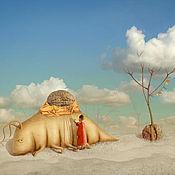 """Картины и панно ручной работы. Ярмарка Мастеров - ручная работа Фотосказка """"Будний день в саду облаков"""". Handmade."""