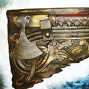 Народные сувениры ручной работы. Ярмарка Мастеров - ручная работа Топор Ушкуйник. Handmade.