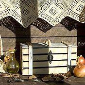 """Для дома и интерьера ручной работы. Ярмарка Мастеров - ручная работа Ящик для овощей """"ЖАРКИЙ ДЕНЬ"""". Handmade."""