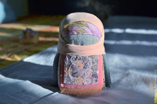 """Народные куклы ручной работы. Ярмарка Мастеров - ручная работа. Купить Крупеничка""""Персиковая"""".. Handmade. Оранжевый, славянский"""