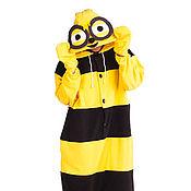 Одежда handmade. Livemaster - original item Costume kigurumi Bee FUNKY BEE KIGU. Handmade.