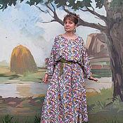 """Одежда ручной работы. Ярмарка Мастеров - ручная работа """"Барышня-крестьянка"""" платье летнее хлопок. Handmade."""