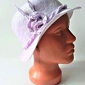 handmade. Livemaster - original item hats: Hat felted. Handmade.