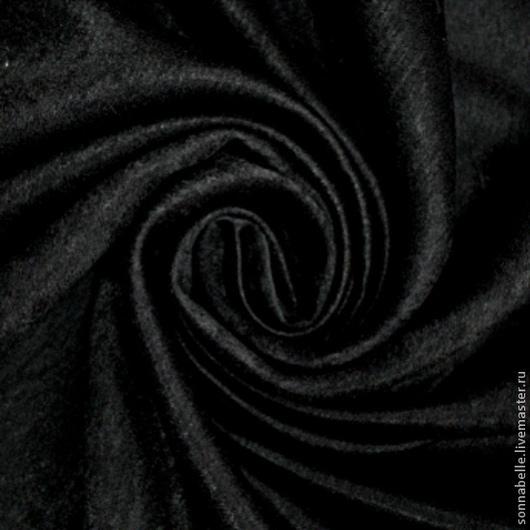 Шитье ручной работы. Ярмарка Мастеров - ручная работа. Купить Ткань портьерная Софт Черного цвета. Handmade. Шторы