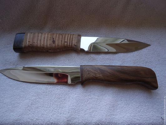 """Подарки для мужчин, ручной работы. Ярмарка Мастеров - ручная работа. Купить Нож """"Аргумент"""". Handmade. Коричневый, рукоять из бересты"""