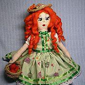 Куклы и игрушки ручной работы. Ярмарка Мастеров - ручная работа Текстильная кукла Дуняша. Handmade.