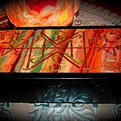 "Фен-шуй и эзотерика handmade. Livemaster - original item Ларец-талисман ""Ведьмина ловушка.Эльфийская Петля"", из натур.камня. Handmade."
