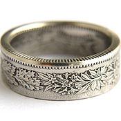 Rings handmade. Livemaster - original item Ring of 2 franc coin Switzerland. Handmade.