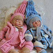 """Работы для детей, ручной работы. Ярмарка Мастеров - ручная работа Комплект одежды для девочки """"Колыбельная малышке"""". Handmade."""
