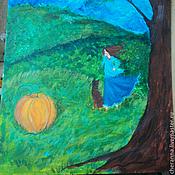 """Картины и панно ручной работы. Ярмарка Мастеров - ручная работа Картинка """"Репка?"""". Handmade."""