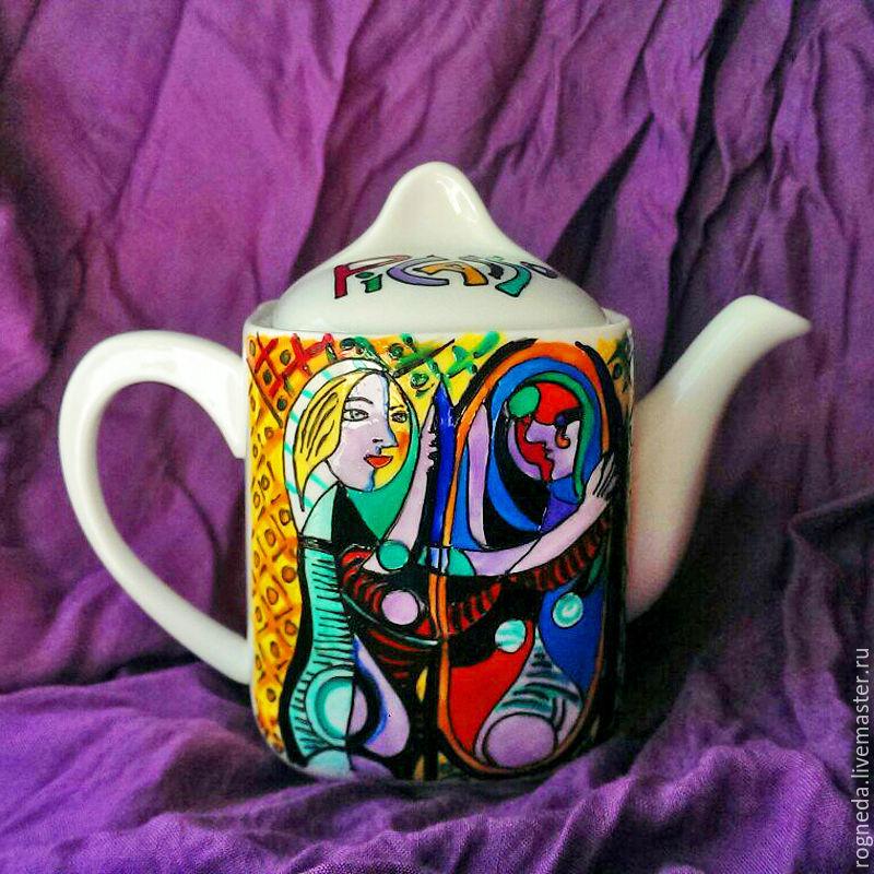"Чайник ""Пикассо"" (0807), Чайники, Москва,  Фото №1"